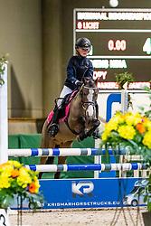 Stevens Nina, BEL, Choopy<br /> Nationaal Indoor Kampioenschap Pony's LRV <br /> Oud Heverlee 2019<br /> © Hippo Foto - Dirk Caremans<br /> 09/03/2019