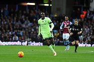 Yaya Toure of Manchester city in action .Barclays Premier league match, Aston Villa v Manchester city at Villa Park in Birmingham, Midlands  on Sunday 8th November 2015.<br /> pic by  Andrew Orchard, Andrew Orchard sports photography.