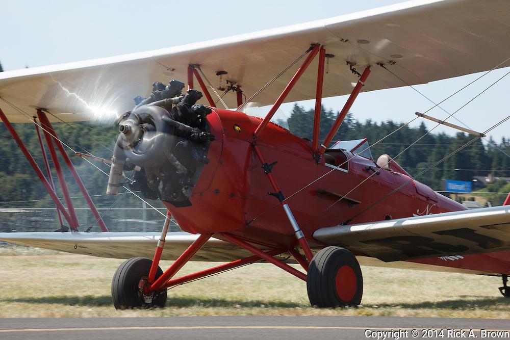 1930 New Standard D-25 at Oregon Aviation Historical Society.