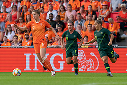01-06-2019 NED: Netherlands - Australia, Eindhoven<br /> <br /> Friendly match in Philips stadion Eindhoven. Netherlands win 3-0 / Vivianne Miedema #9 of The Netherlands