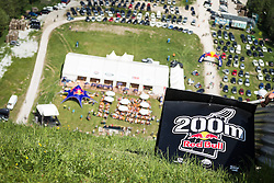 25.05.2014, Skiflugschanze Kulm, Kulm, AUT, Red Bull 400, Qualifikationsläufe Full Distance Männer, im Bild Feature // during the Red Bull 400 at the Skiflying Hill, Kulm, Austria on 2014/05/25, EXPA Pictures © 2014, PhotoCredit: EXPA/ M.Kuhnke