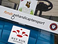 NUNSPEET - Buggie Fonds gehandicaptensport op Golfbaan RIJK VAN NUNSPEET, COPYRIGHT KOEN SUYK