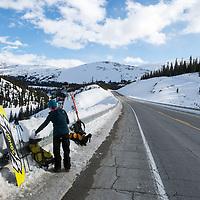 Jasper Alberta backcountry skiing and splitboarding.<br /> <br /> Check out the full photoessay at http://xpatmatt.com/jasper-adventure-photos/