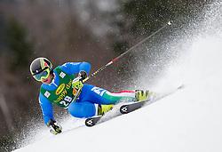 NANI Roberto of Italy during the 2nd Run of 7th Men's Giant Slalom - Pokal Vitranc 2013 of FIS Alpine Ski World Cup 2012/2013, on March 9, 2013 in Vitranc, Kranjska Gora, Slovenia. (Photo By Vid Ponikvar / Sportida.com)