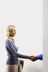 Dec. 05, 2012 - Businesswoman shaking hands (Credit Image: © Image Source/ZUMAPRESS.com)