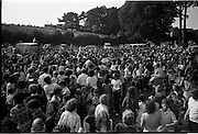 15/07/1972<br /> 07/15/1972<br /> 15 July 1972<br /> Muhammad Ali at Stewarts Hospital Fete, Palmerstown, Dublin. The crowds gather to see Ali.