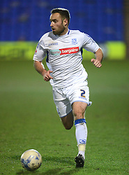Tranmere Rovers's Danny Holmes in action - Photo mandatory by-line: Richard Martin-Roberts/JMP - Mobile: 07966 386802 - 03/03/2015 - SPORT - football - Tranmere - Prenton Park - Tranmere Rovers v Wycombe Wanderers - Sky Bet League Two