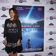 London, England, UK. 14th September 2017.Seema Jaswal is a TV Presenter attend the Landing Lake Film Premiere at Empire Haymarket,London, UK.