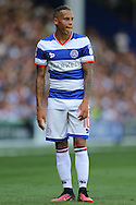 Tjarron Chery of QPR looks on. Skybet EFL championship match, Queens Park Rangers v Leeds United at Loftus Road Stadium in London on Sunday 7th August 2016.<br /> pic by John Patrick Fletcher, Andrew Orchard sports photography.