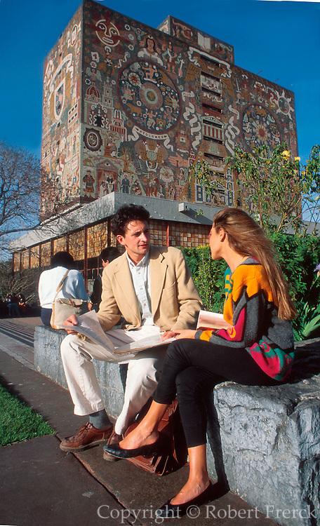 MEXICO, EDUCATION National University UNAM Library