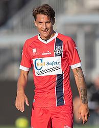 Oliver Kjærgaard (FC Helsingør) under træningskampen mellem FC Helsingør og Næstved Boldklub den 19. august 2020 på Helsingør Stadion (Foto: Claus Birch).