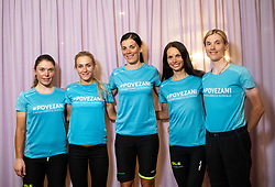 Urska Bravec, Urska Zigart, Eugenia Bujak, Ursa Pintar and Spela Kern of Team Slovenia after the Women Elite Road Race at UCI Road World Championship 2020, on September 26, 2020 in Imola, Italy. Photo by Vid Ponikvar / Sportida