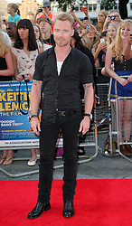 Ronan Keating   arriving for the premiere of Keith Lemon The Film in London, Monday, 20th August 2012. Photo by: Stephen Lock / i-Images
