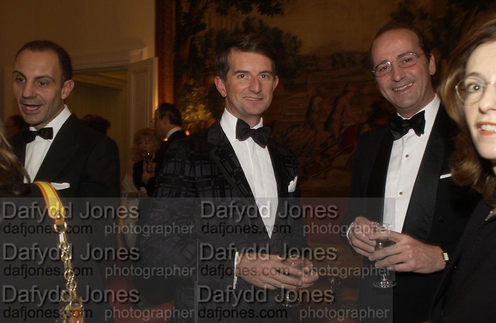 Dinner at the Italian Embassy in which the winner of the MaxMara Art Prize for Women is announced. Grosvenor Sq. London . 2 February  2006. © Copyright Photograph by Dafydd Jones 66 Stockwell Park Rd. London SW9 0DA Tel 020 7733 0108 www.dafjones.com