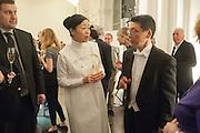 MARIKO MORI; Keiichi Hayashi JAPANES AMBASSADOR IN LONDON, Mariko Mori opening, Royal Academy Burlington Gardens Gallery. London. 11 December 2012.