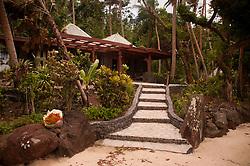 Approaching the Bure, Turtle Island, Yasawa Islands, Fiji