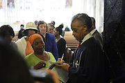 New York, NY- July 20: Rev. Al Sharpton, Founder & President, National Action Network attends the preaching of ' God is Here ' a sermon preached by Rev. Al Sharpton held at the historic Riverside Church on July 20, 2014 in New York City.  (Terrence Jennings)