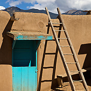 Taos Pueblo is the only living Native American community designated both a World Heritage Site by UNESCO and a National Historic Landmark. The multi-storied adobe buildings have been continuously inhabited for over 1000 years. It is the longest continuously inhabited place in the U.S.