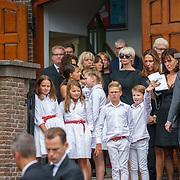 NLD/Huizen/20180818 - uitvaart Bert Verwelius, kleinkinderen