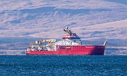 RRS Sir David Attenborough research vessel conducting sea trails in the Firth of Lorne near Oban..…….. (c) Stephen Lawson   Edinburgh Elite media