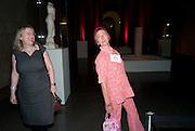 JEAN WAINWRIGHT; SILVIA ZIRANEK; , Susan Hiller opening, Tate Britain. 31 January 2010. -DO NOT ARCHIVE-© Copyright Photograph by Dafydd Jones. 248 Clapham Rd. London SW9 0PZ. Tel 0207 820 0771. www.dafjones.com.