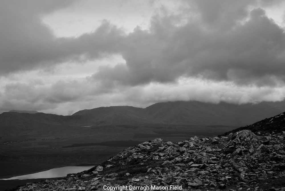 Croagh Patrick, Irelands holy mountain, located in County Mayo on the west coast.