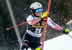 RODES Istok of Croatia during the Audi FIS Alpine Ski World Cup Men's Slalom 58th Vitranc Cup 2019 on March 10, 2019 in Podkoren, Kranjska Gora, Slovenia. Photo by Matic Ritonja / Sportida