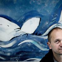 Nederland, Amsterdam , 16 oktober 2014.<br /> Alex Cornelissen, kapitein van een van de schepen van de Sea Shepherd.<br /> Foto:Jean-Pierre Jans