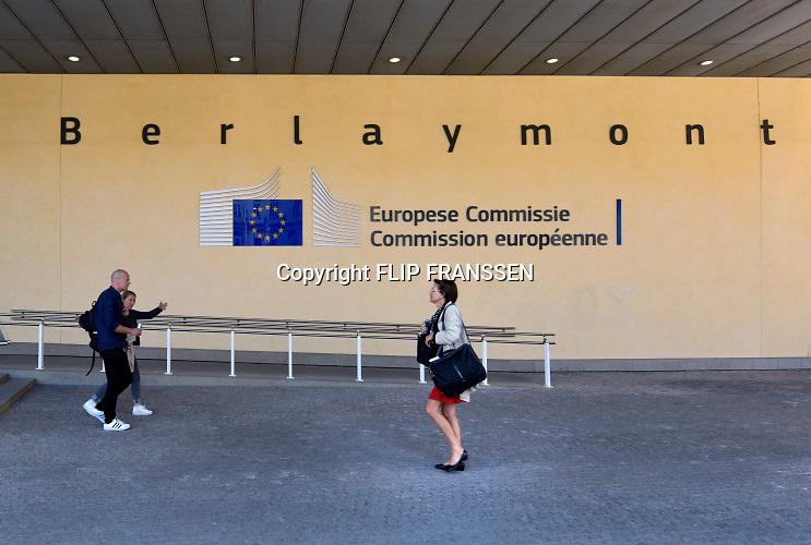 Belgie, Brussel, 14-5-2019 Het Berlaymont gebouw, zetel van de Europese Commissie. Foto: Flip Franssen