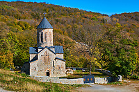 Georgie, Caucase, région de Mtskheta-Mtianeti, eglise de campagne // Georgia, Caucasus, Mtskheta-Mtianeti region, church in the country side
