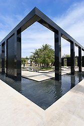 Wisdom Garden at New Mushrif  Central Park in Abu Dhabi United Arab Emirates