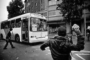 Jour du jeune combattant. Youth combattant day. Manifestations au Chili. 2007