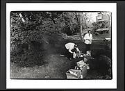 Stephen Cranston 21st. drinks. Trinity Gardens, Trinity college. Oxford. June 1983.