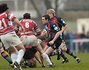 2004/05 Zurich Premiership,NEC Harlequins vs Gloucester, The Stoop,Twickenham, ENGLAND:<br /> <br /> Twickenham. Surrey, UK., 5th February 2005, Zurich Premiership Rugby,  The Stoop,  [Mandatory Credit: Peter Spurrier/Intersport Images],