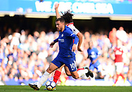 Eden Hazard of Chelsea in action. Premier league match, Chelsea v Arsenal at Stamford Bridge in London on Sunday 17th September 2017.<br /> pic by Andrew Orchard sports photography.