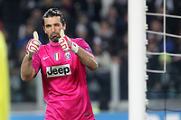 "Esultanza Gianluigi Buffon Juventus<br /> celebration<br /> Torino 20/11/2012 Stadio ""Juventus""<br /> Football Calcio UEFA Champions League 2012/13<br /> Juventus v Chelsea<br /> Foto Insidefoto Paolo Nucci"