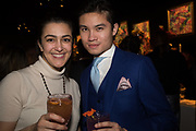 JOZELLE,, @BPLEI,  Hermes party to celebrate the opening of their new store in the Meatpacking district, 300 Vesey st.   New York. 4 April 2019