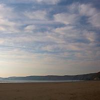 Europe, United Kingdom, Wales, Pembrokeshire, Newgale. Newgale Beach.