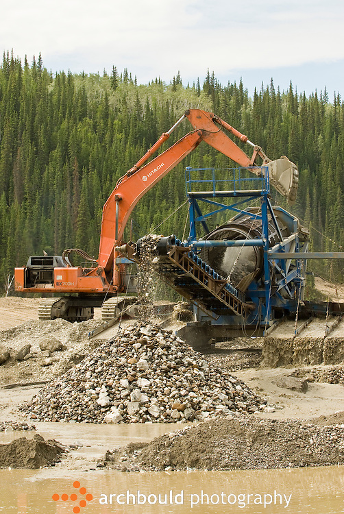 Gold operation in the Dawson region of the Yukon.<br /> <br /> NOT IN YOUR BUDGET? Contact Cathie for a price specific to your project.