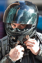 © Licensed to London News Pictures . Manchester , UK . FILE PICTURE DATED 28/08/2014 of PC KEVIN DWYER (39) , of Greater Manchester Police's North Manchester Division , arriving at Manchester City Magistrates Court . Dwyer has today (20th February 2015) pled guilty to two counts of voyeurism and ten counts of outraging public decency that took place whilst he was serving as a police officer . Dozens of indecent videos were found on his computer and mobile phones . Photo credit : Joel Goodman/LNP