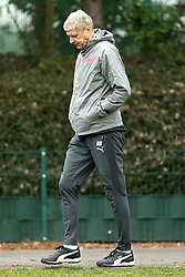 Arsenal manager Arsene Wenger during the training session at London Colney, Hertfordshire. PRESS ASSOCIATION Photo. Picture date: Wednesday February 14, 2018. See PA story SOCCER Arsenal. Photo credit should read: Steven Paston/PA Wire