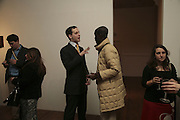 Lord Frederick Windsor and Musa Okwonga. Misadventure In the Middle East. Travels As a Tramp, Artist and Spy by Henry Hemming. Book launch and exhibition. Paradise Row. London. E2.  -DO NOT ARCHIVE-© Copyright Photograph by Dafydd Jones. 248 Clapham Rd. London SW9 0PZ. Tel 0207 820 0771. www.dafjones.com.