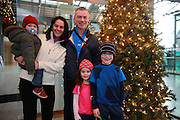 NO FEE PICTURES <br /> 1/1/15 Antoinette and Robert Whitty with their children James and Ella and Michael, Dartryhe Resolution Day New Years Day fun run at the CHQ building in Dublin. Picture:Arthur Carron