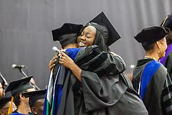 Kimberly L. Donovan.  Fifty-first annual University of the Virgin Islands  Commencement Exercises.  UVI Sports & Fitness Center.  St. Thomas, VI.  14 May 2015.  © Aisha-Zakiya Boyd