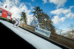 Jernej Damjan of Slovenia during Ski Flying Hill Individual Competition at Day 2 of FIS Ski Jumping World Cup Final 2018, on March 23, 2018 in Planica, Ratece, Slovenia. Photo by Ziga Zupan / Sportida