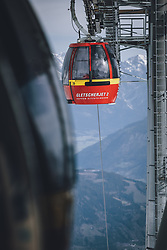 THEMENBILD - Gondel des Gletscherjet 2 am Skigebiet Kitzsteinhorn, aufgenommen am 21. Oktober 2020 in Kaprun, Österreich // Gletscherjet 2 gondola at the Kitzsteinhorn ski resort, Kaprun, Austria on 2020/10/21. EXPA Pictures © 2020, PhotoCredit: EXPA/ JFK