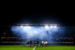 Chelsea and Tottenham Hotspur line up at Stamford Bridge  - Mandatory by-line: Robbie Stephenson/JMP - 24/01/2019 - FOOTBALL - Stamford Bridge - London, England - Chelsea v Tottenham Hotspur - Carabao Cup