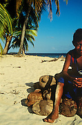 Kuna Yala is an autonomous territory or 'comarca' in Panama, inhabited by teh Kuna indigenous people. The name means 'Kuna land' or 'Kuna mountain' in the native Kuna language. It's here, just a handful of miles away from the Panamanian mainland, that one can step into a truly different and remarkable world. Where one can be met with warmth and interesting philosophies that can only humble someone from the 'western world'. In the days I spent living with the Kuna people I learnt so much about real life and its real necesities. A happy and subsistent existance, fuled with coconuts, lobster, sunshine and appreciation.
