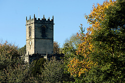 Saint Marys Church Ecclesfield Seen From Ecclesfield Park20th October 2010 .Images © Paul David Drabble