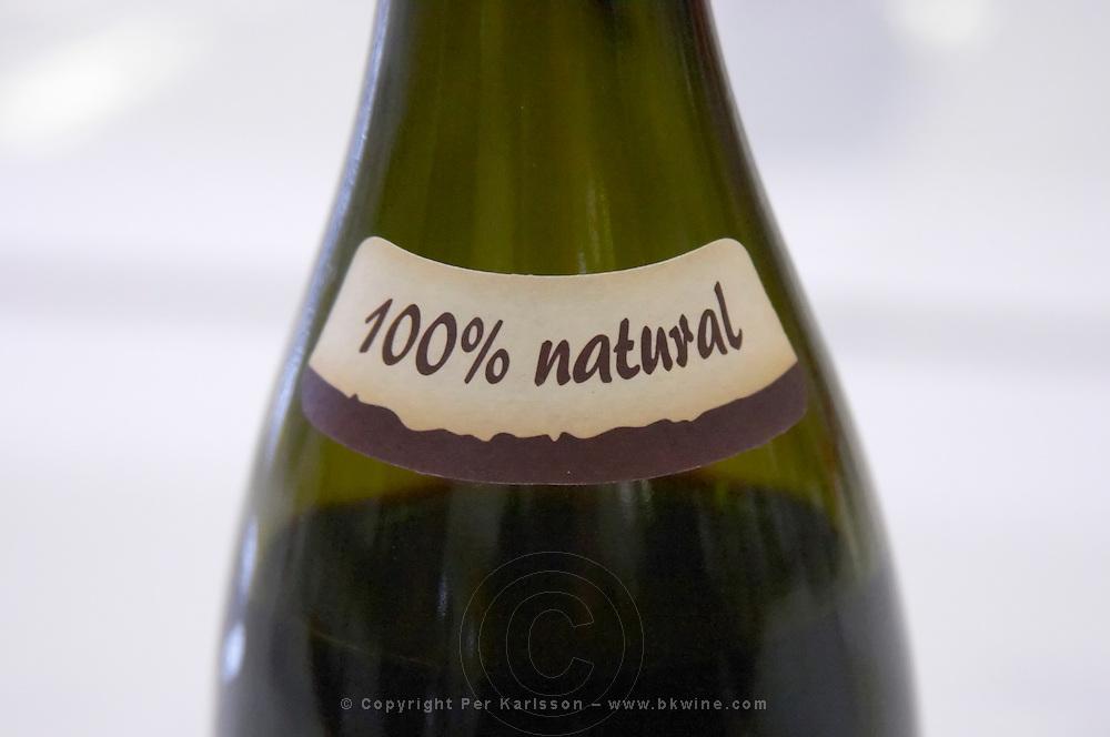 100% natural neck label aronica organic wine poland